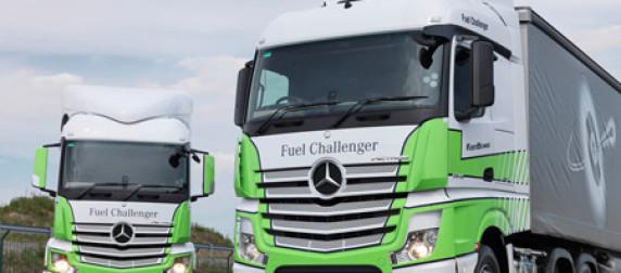 Mercedes-Benz Actros off to flyer in MPG Challenge