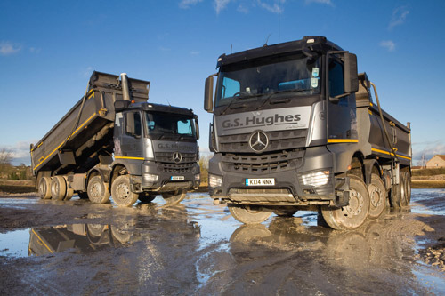 Fit for purpose mercedes benz arocs is an mpg winner for for Mercedes benz montgomery road