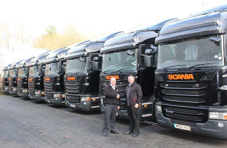 Ballyvesey Holdings Approved Used Scania Fleet for Barnes ...