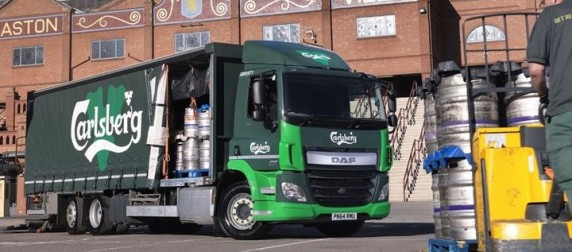 DAF's aftersales excellence delivers results for Carlsberg