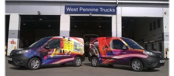 West Pennine Trucks' VRS is all over the FIAT Doblò