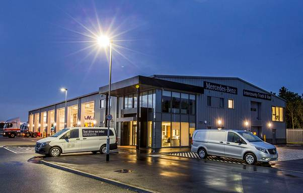 Intercounty opens high profile mercedes benz dealership in for Mercedes benz montgomery road