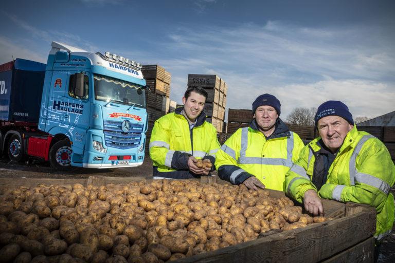 L-r, Matthew, Jonathan & Nigel Harper (2)